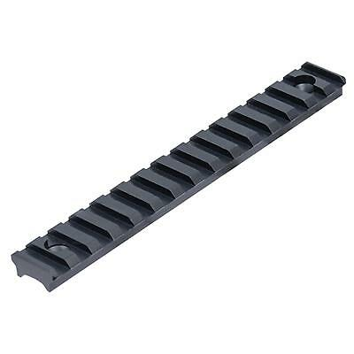 "Leapers UTG Mil-Spec Picatinny Detachable Rail .38"" High 15 Slot, Black"