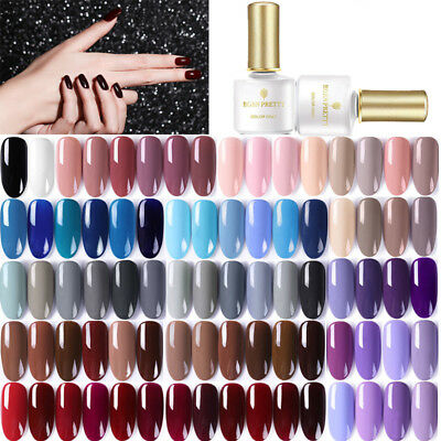 BORN PRETTY 6ml Esmalte de Uñas UV Gel Soak off Nail Art UV Gel Polish Colorful