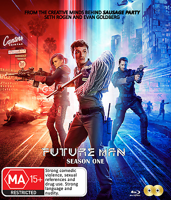 Future Man - Season 1 DVD [New/Sealed] Complete First Series