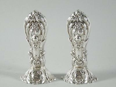 Pair: Reed & Barton Francis I Sterling Silver Salt & Pepper Shakers