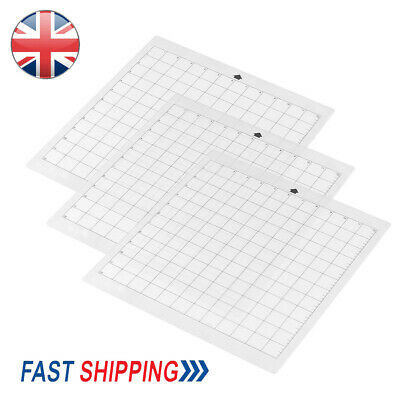 3pack 12 Replacement Cutting Mat Transparent Adhesive Grid