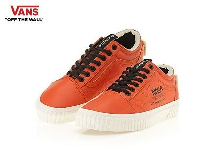 Vans Nasa Old Skool Space Voyager Firecracker Orange Fashion Sneakers 30fcf7209