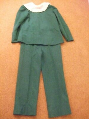 Vintage/Retro Girls/Teenagers Handmade Trouser Suit 1960's Stage/Theatrical