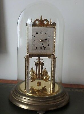 400 day anniversary clock with glass dome