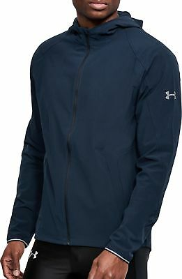 74b0a24abe8 UNDER ARMOUR OUTRUN The Storm Mens Running Jacket - Blue - EUR 46