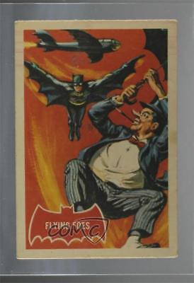 1966 A&BC Batman A Series (Red Bat Logo) #31A Flying Foes Non-Sports Card 0a6