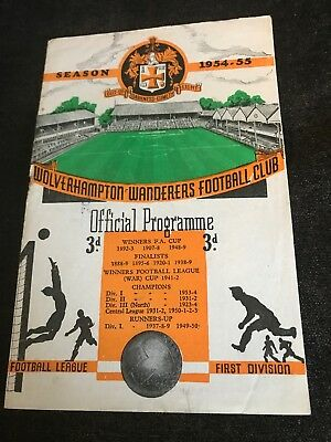 Wolves Vs Arsenal 1954/55 FA Cup