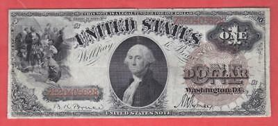 BETTER 1880 SERIES! $1 LARGE BROWN Seal LEGAL TENDER United States Note!     x6a