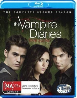 The Vampire Diaries: Season 2 Blu-ray Region B (New)