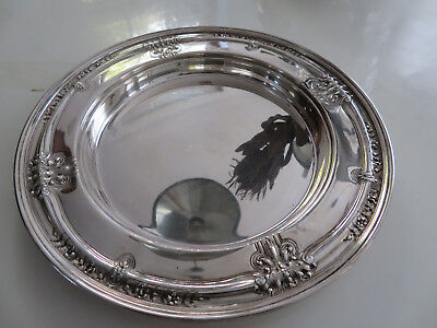 Antique Barbour Sterling Silver Tray