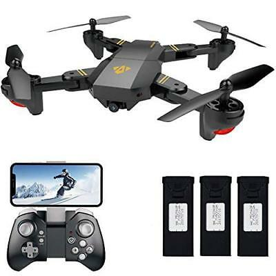 FPV RC Drone with Camera Live Video, VISUO XS809HW WiFi Quadcopter with 720 HD
