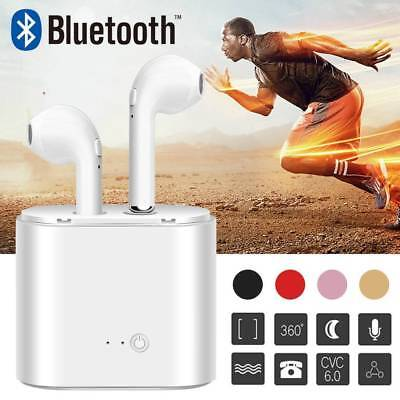 Twins Wireless Earphone Bluetooth Headphones Stereo Earbud Sports Gym Sweatproof