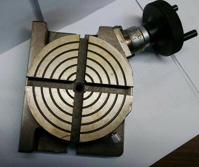"""4"""" Rotary Table Horizontal & Vertical  **new**"""