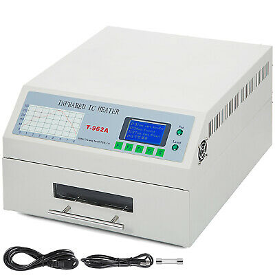 T-962A Reflow Oven Infrared SMD BGA Heater Automatic Soldering 300×320mm 1500W