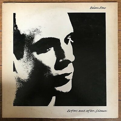 Brian Eno Before And After Science Japan LP 1977 Polydor MPF 1131 + Insert