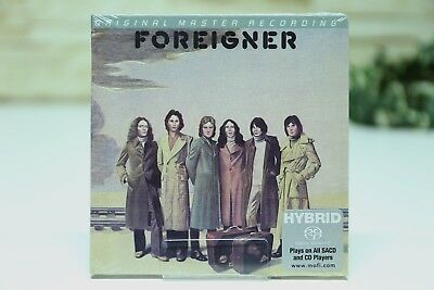Foreigner FOREIGNER CD Special Limited Edition Mofi Hybrid SACD MFSL NEW