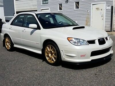2007 Impreza WRX STI 2007 Subaru Impreza WRX STI 6 Speed Manual 4-Door Sedan
