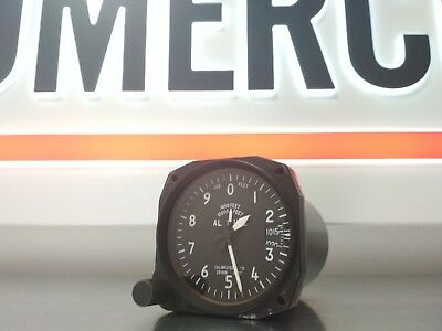 """Aviation Indicator --- Altimeter in FEET """"BG-3E"""" --- Panel Mount (for Aircraft)"""