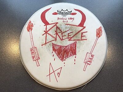 Breeze Signed Drum Head