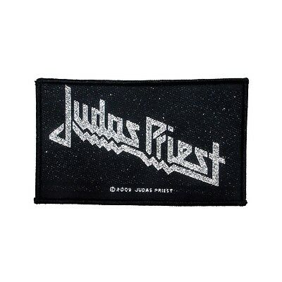 Judas Priest Classic Logo Patch Heavy Metal Band Music Woven Sew On Applique