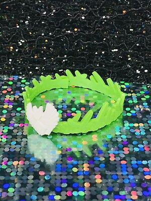 Monster High Batsy Claro Replacement Headband Green White Bat Tribal Style