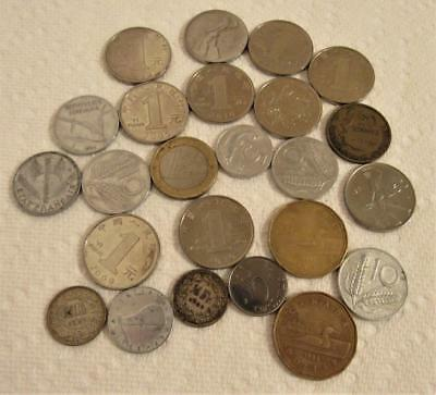 Coin Lot Coins European Norwegian China France Euro Canadian Dollar Italy Lots
