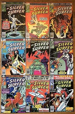 Fantasy Masterpieces Silver Surfer 1 2 3 5 6 7 8 10 11 FREE SHIPPING
