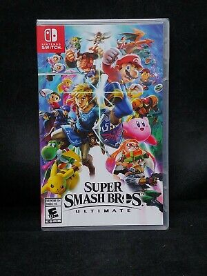 Super Smash Bros Ultimate (Nintendo Switch) BRAND NEW