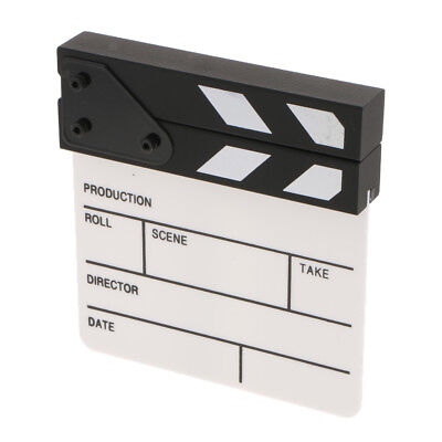 Director Clapboard Movie Clapper Board for TV Film Photography Accessory Kit
