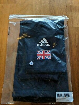 Brand new Team GB Adidas Great Britain Cycling Team Blue Knee Warmers Size M