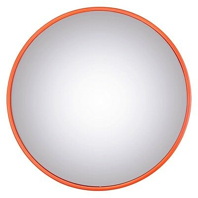 "12"" Wide Angle Convex PC Mirror Wall Mount Corner Road Store Security Blind Spot"