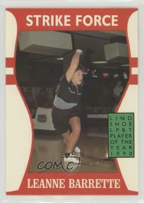 1991 Little Sun Ladies Pro Bowling Tour Strike Force #8 Leanne Barrette Card