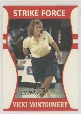 1991 Little Sun Ladies Pro Bowling Tour Strike Force #35 Vicki Montgomery Card