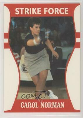 1991 Little Sun Ladies Pro Bowling Tour Strike Force #15 Carol Norman Card