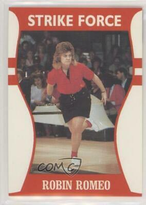 1991 Little Sun Ladies Pro Bowling Tour Strike Force #13 Robin Romeo Card