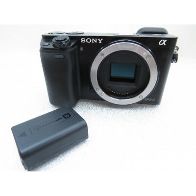 Sony Alpha a6000 Mirrorless Digital Camera 24.3 MP SLR Camera with 3.0-Inch LCD