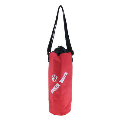 Insulated Portable Wine Bottle/Drink Carry Cooler Tote Bag for Travel Picnic