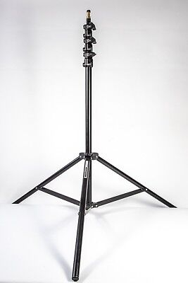 Manfrotto 367B Basic Light Stand extends up to 9 Feet with 5/8'' Stud