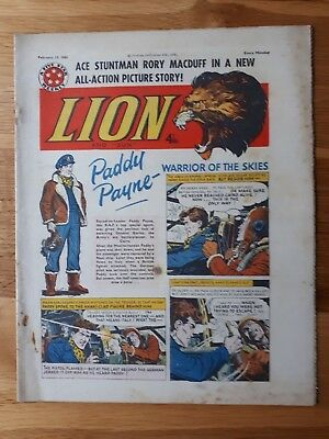 The Lion Comic 13th February 1960 Walsall FC Team Photograph