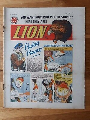 The Lion Comic 5th March 1960 Hull City FC Team Photograph