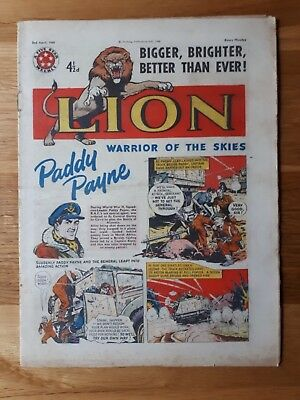 The Lion Comic 2nd April 1960 Shrewsbury Town FC Team Photograph