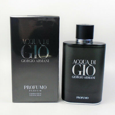 Acqua Di Gio Profumo by Giorgio Armani Parfum 4.2 oz - 125 ml *NEW IN BOX*