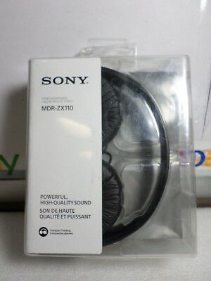 Sony MDR-ZX110 Stereo Over-Head Headphone Extra Bass - BLACK
