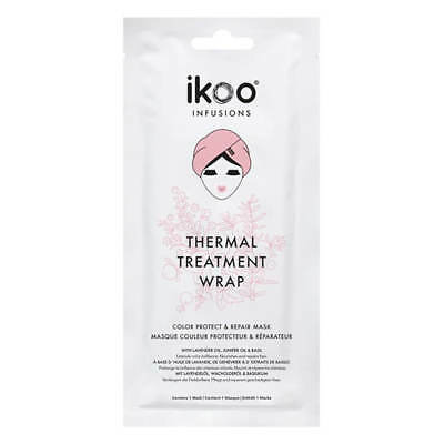 Ikoo Infusions Thermal treatment wrap Color protect & repair mask