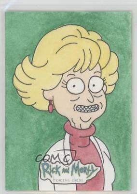 2018 Cryptozoic Rick and Morty Season 1 Sketch Cards #DABO Dan Borgonos Auto 1j8