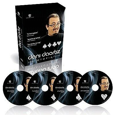 Magic Tricks Utopia by Dani DaOrtiz (4 DVD Set)