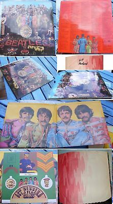 THE BEATLES-SGT. PEPPERS LONELY HEARTS-UK-MONO-COMPLETE 1st PRESS 1967
