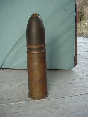 French 37mm M1916 WWI Artillery Round Inert