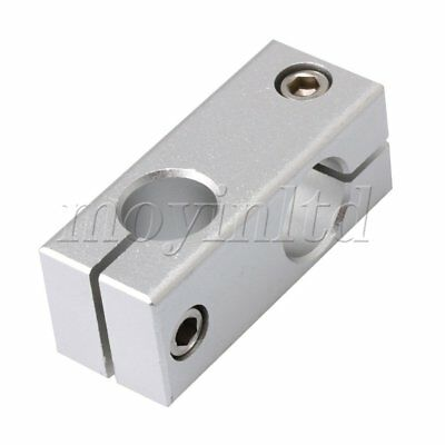 16mm/18mm Two Holes Cross Linear Shaft Clamp Connectors Fixing Accessory