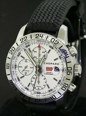 0a2f341c72c1a Chopard Mille Miglia 1000 GMT 8992 SS automatic chronograph men's watch